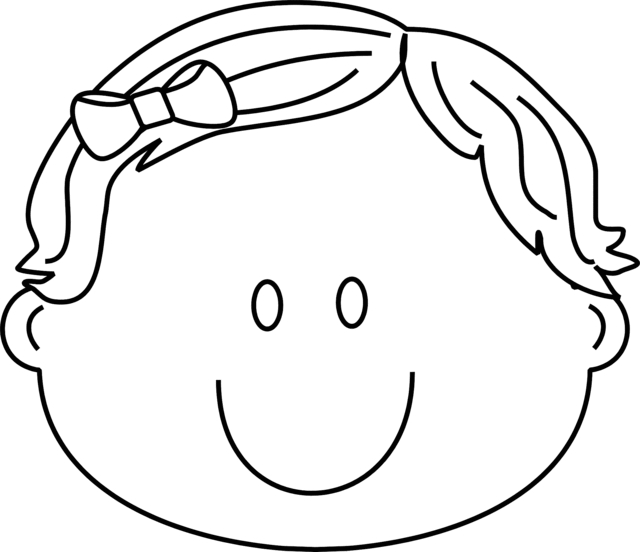 happy face coloring page - clipart best
