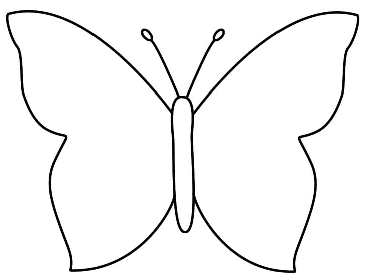 Butterfly Template | Templates ...