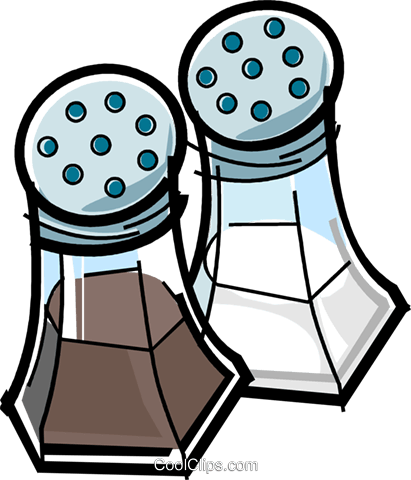 Salt And Pepper Clipart Clipart Best