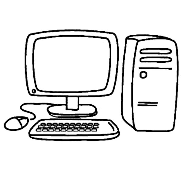 Computer Coloring Book Clipart Best Coloring Pages You Can Color On The Computer For Adults