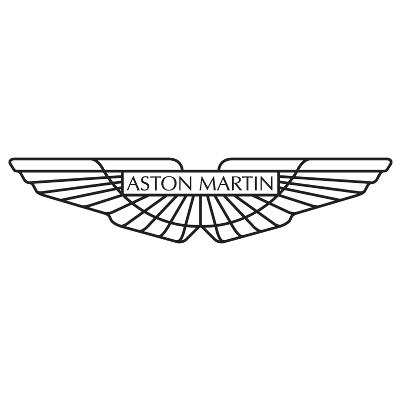 Aston Martin Badge Outline
