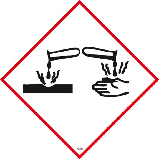 Corrosive Symbol Chemi...