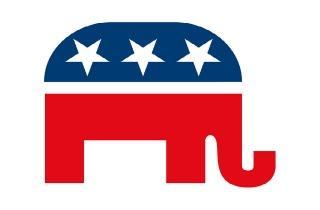 Republican Elephant Clipart