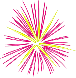 Celebrate with Free Fireworks Clip Art