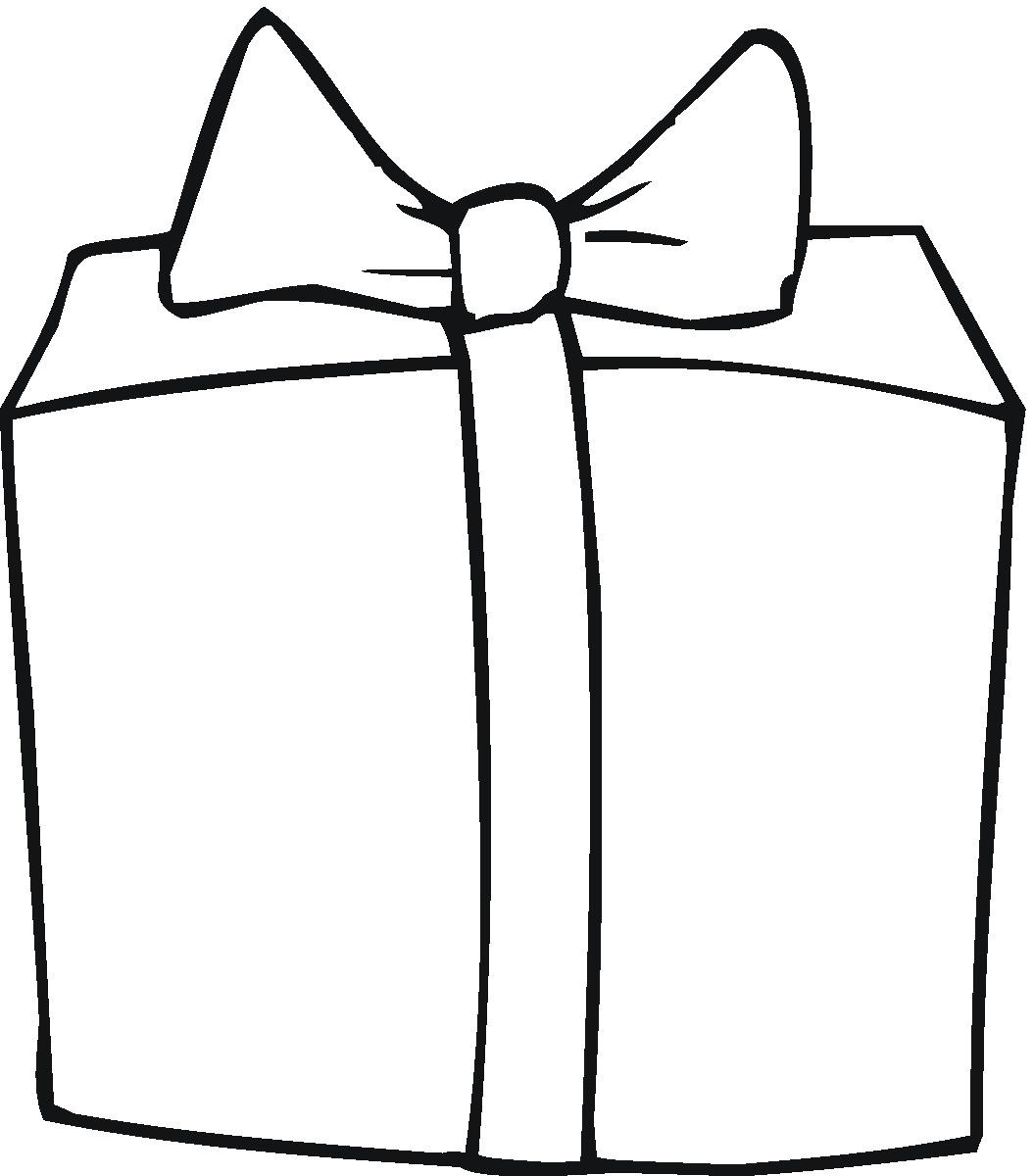 Gift Outline - ClipArt Best