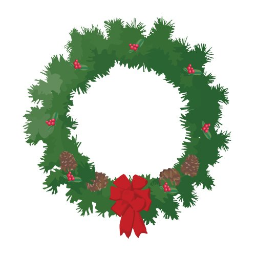 46 christmas wreath clipart . Free cliparts that you can download to ...