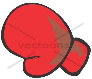 Boxing Gloves Cartoon - ClipArt Best