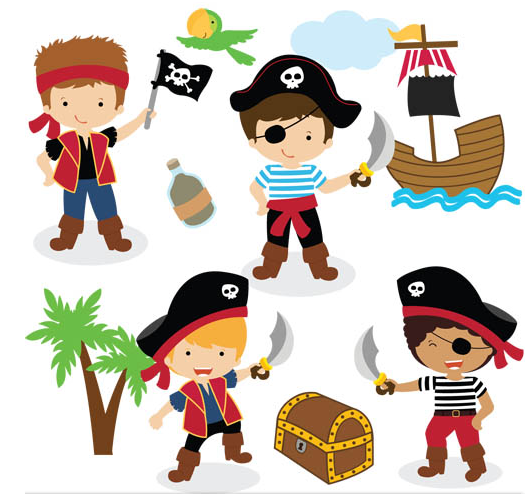 cartoon pirates png clipart best Valentine's Day Clip Art Coloring Page Valentine's Day Clip Art to Color