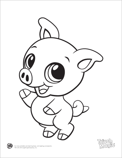 baby animal coloring pages to print out - photo #9