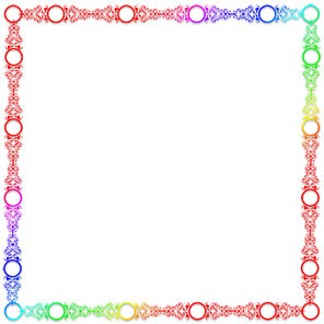 Hd Simple Colorful Frames And Borders
