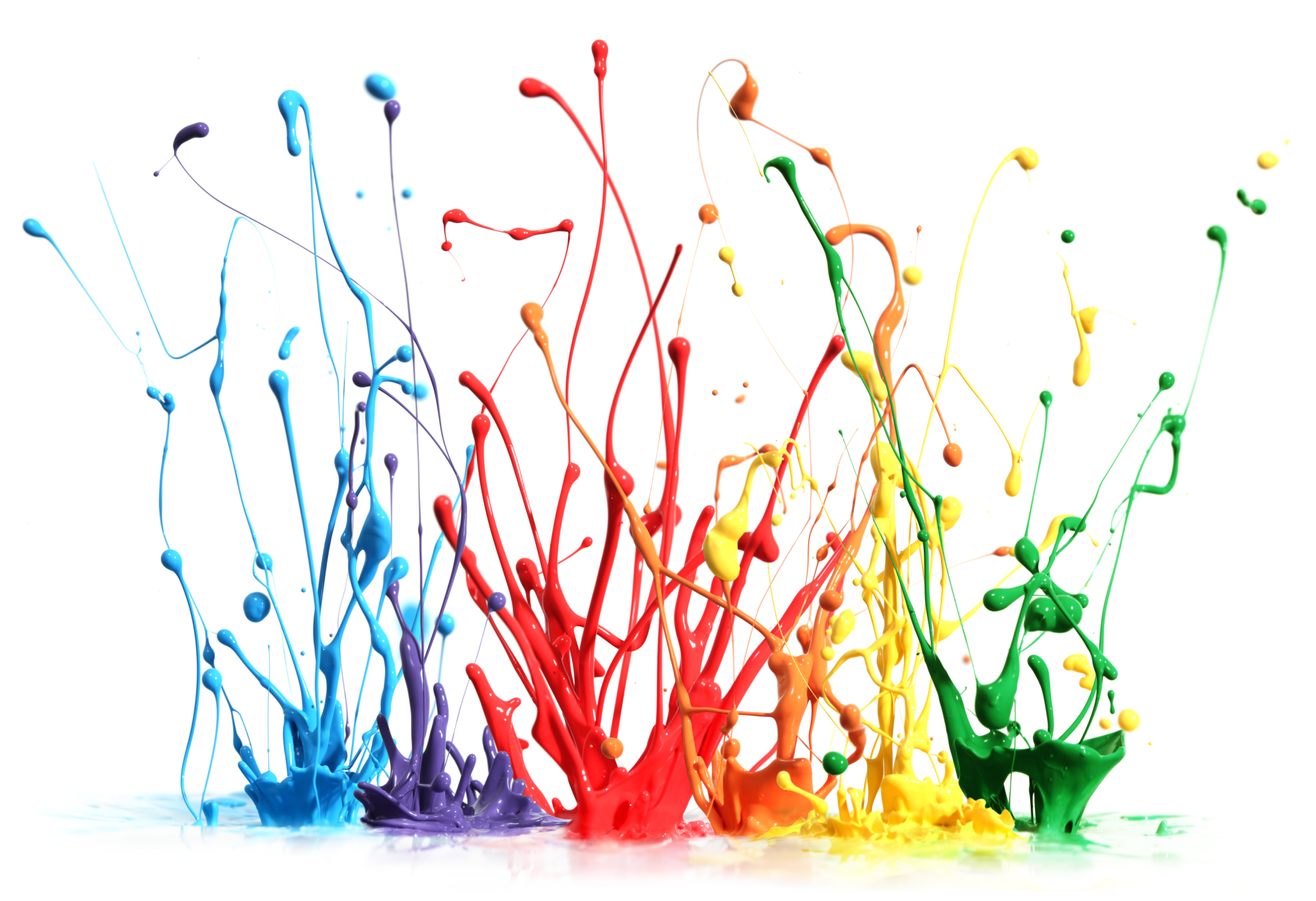 Paint Splat Wallpaper Clipart Best