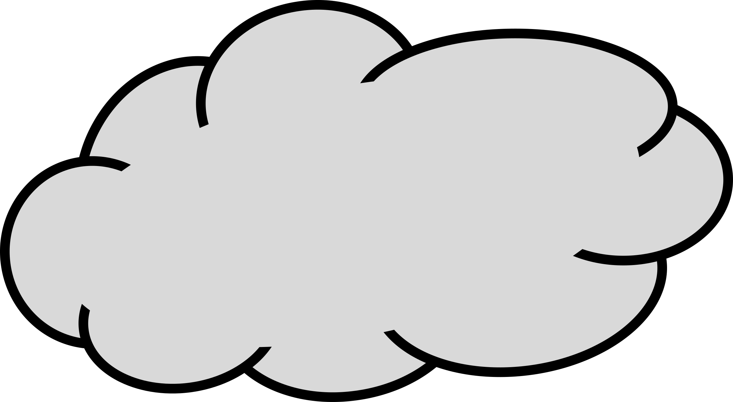Cloud clip art black and white free clipart images 2 - Cliparting.com