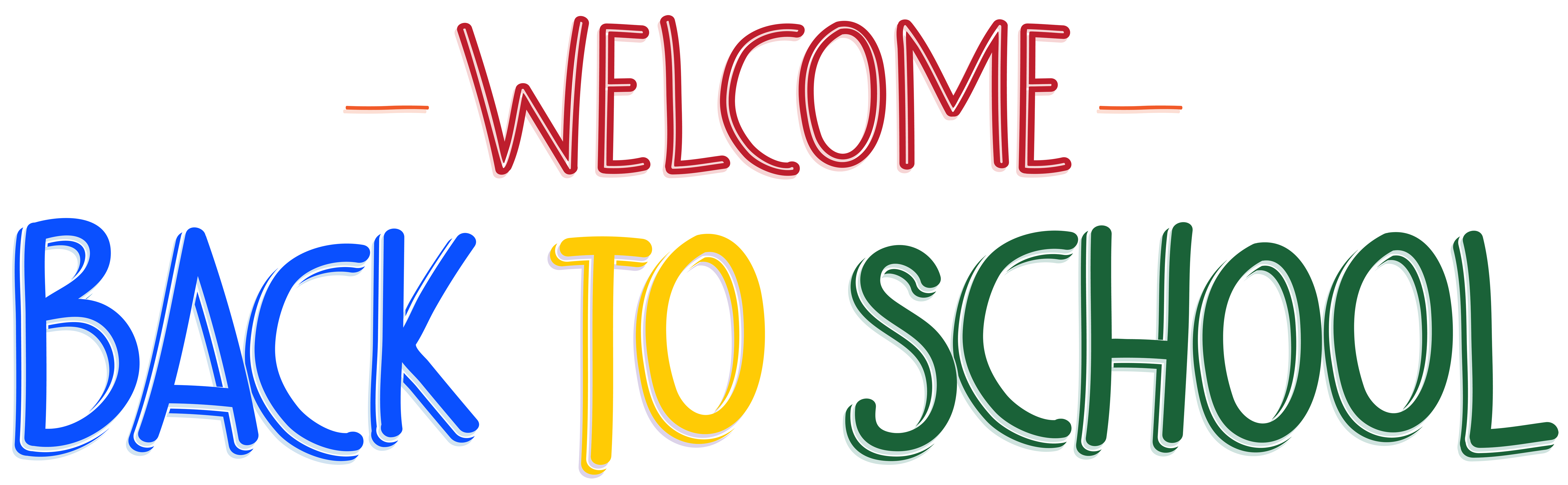 Welcome back to school clip art free - ClipartFox