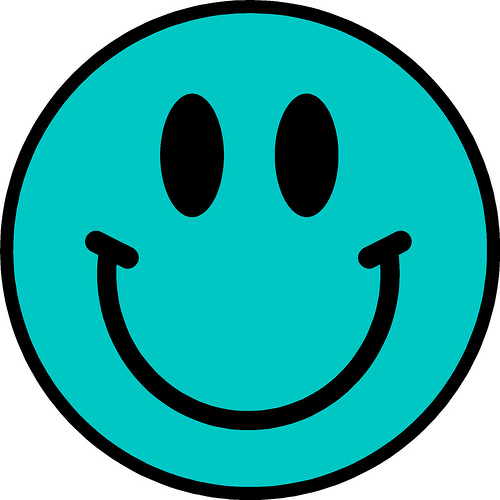 Blue Smiley Face - ClipArt Best