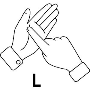 L In Sign Language - ClipArt Best