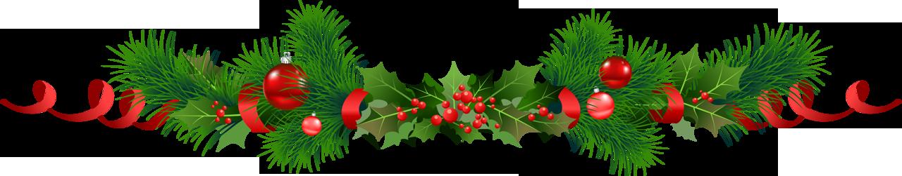 Christmas garland clip art clipart best