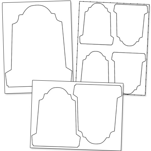 Tombstone Template Pdf - ClipArt Best