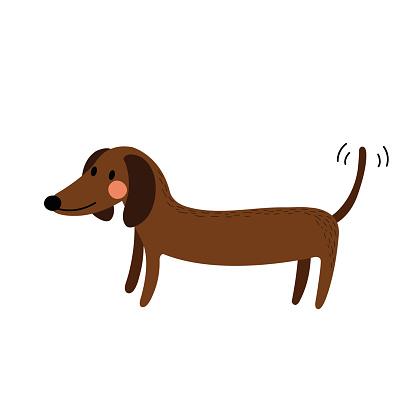 dog illustrations clipart best Dachshund Art Dachshund Art