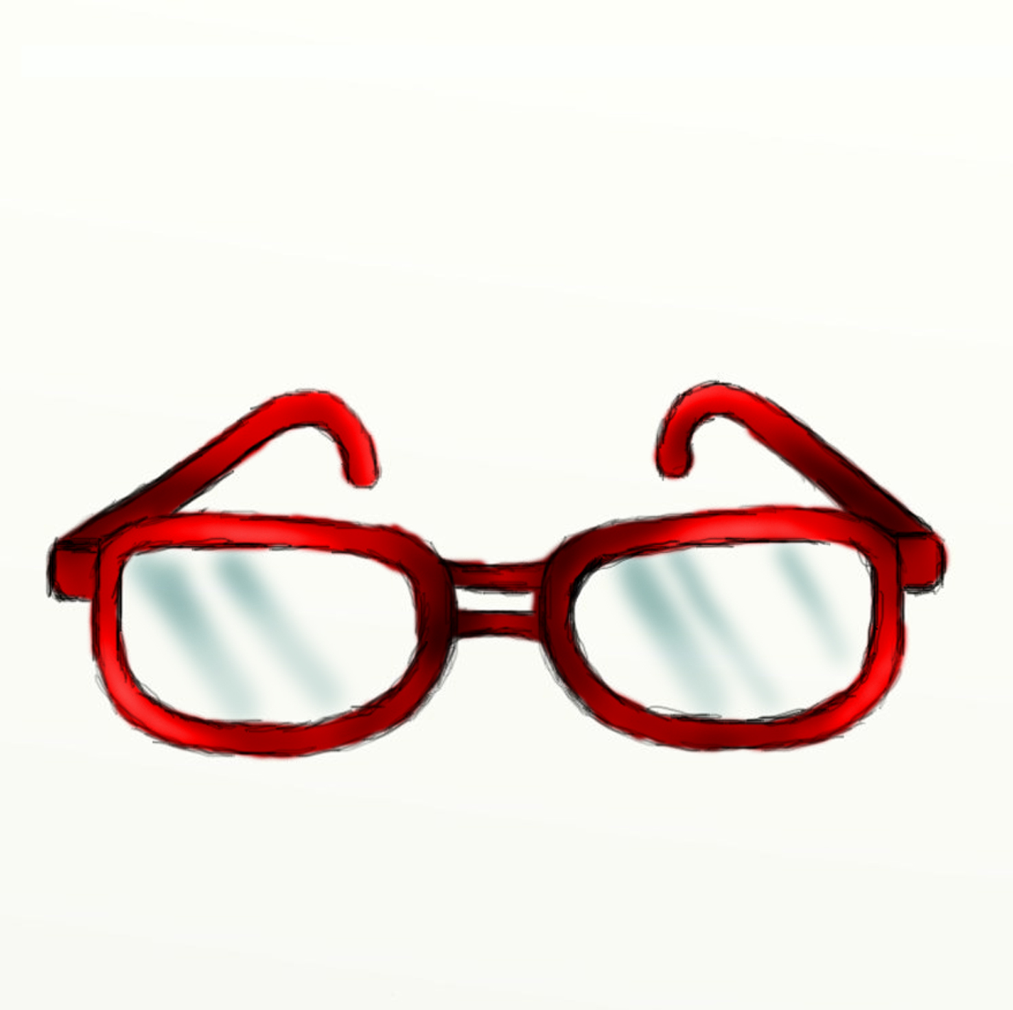 Reading Glasses Cartoon - Free Clipart Images
