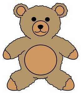 Simple Teddy Bear - ClipArt Best