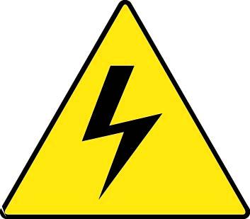 electricity dangers symbols clipart best