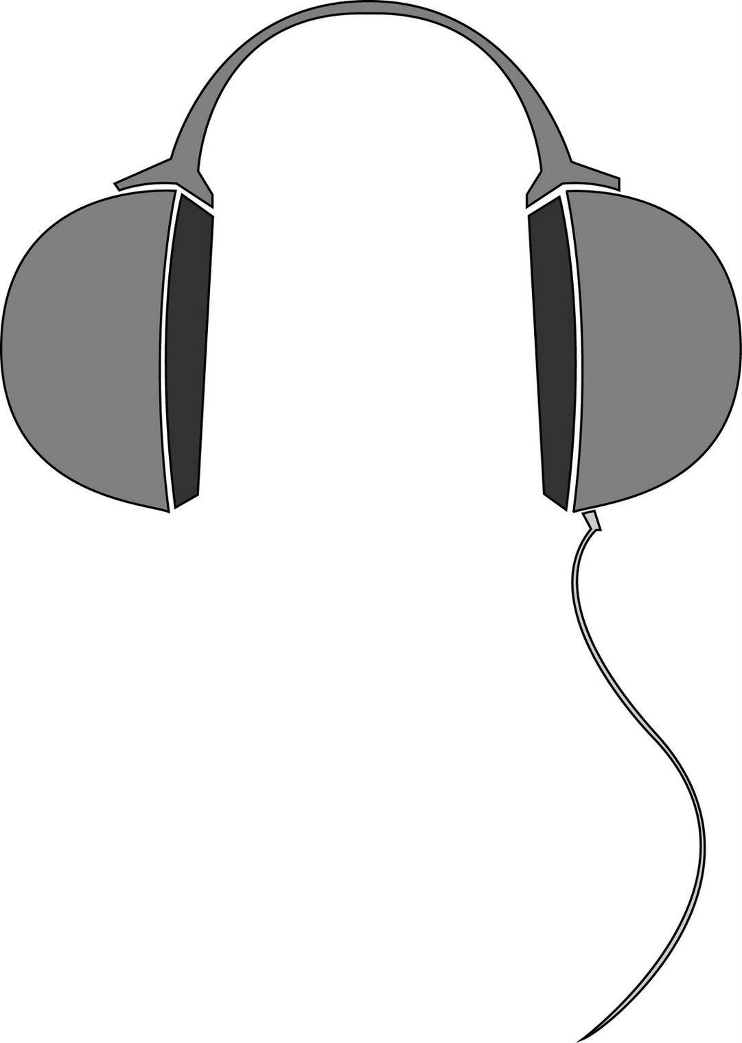 Headphones drawing simple