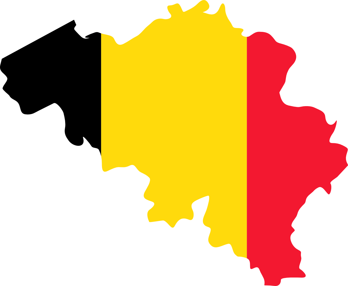 Clip Art: Flag and Map of Belgium Drapeau ... - ClipArt Best - ClipArt ...