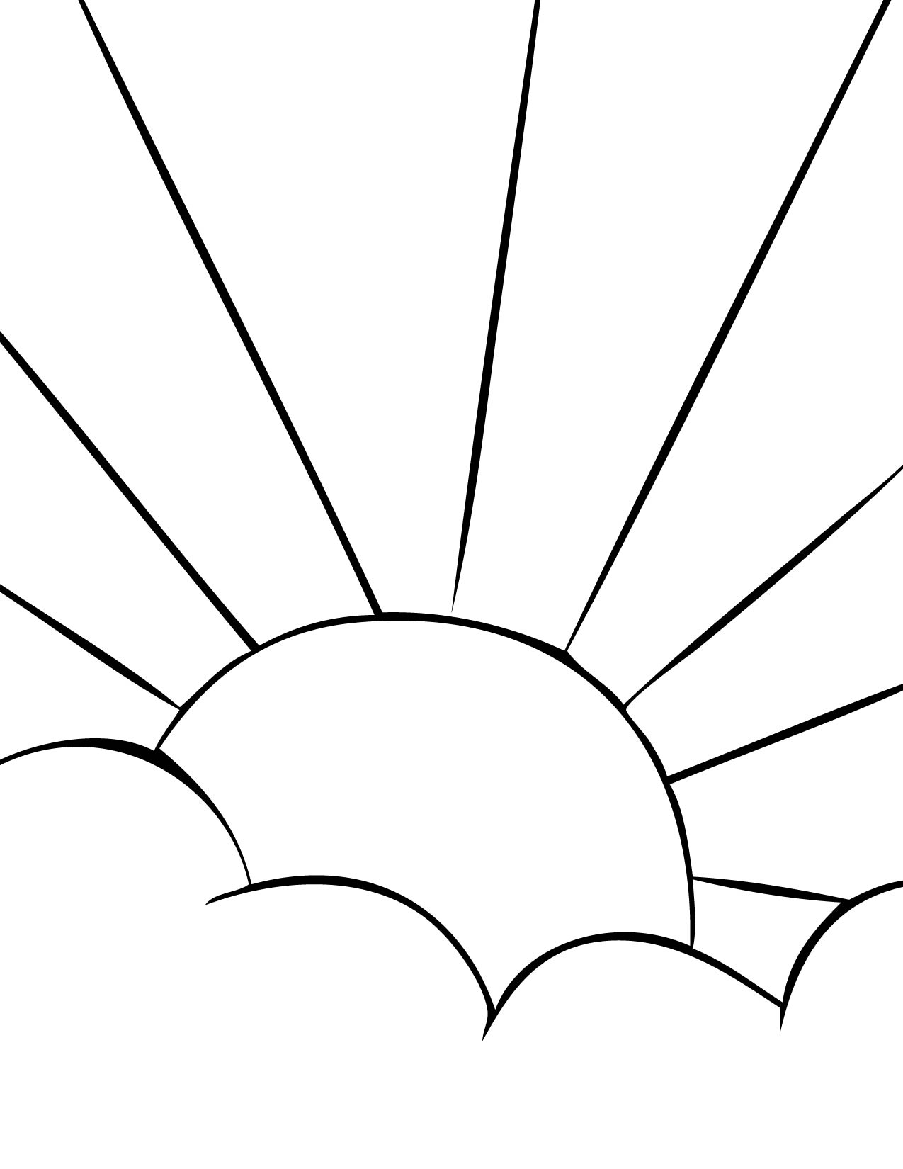 coloring pages suns - photo#19