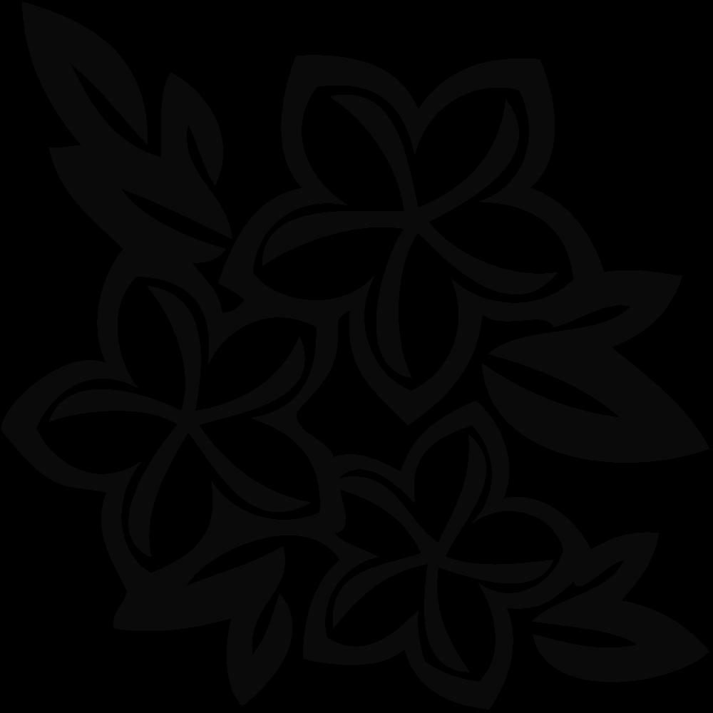 hawaiian flower colour - clipart best