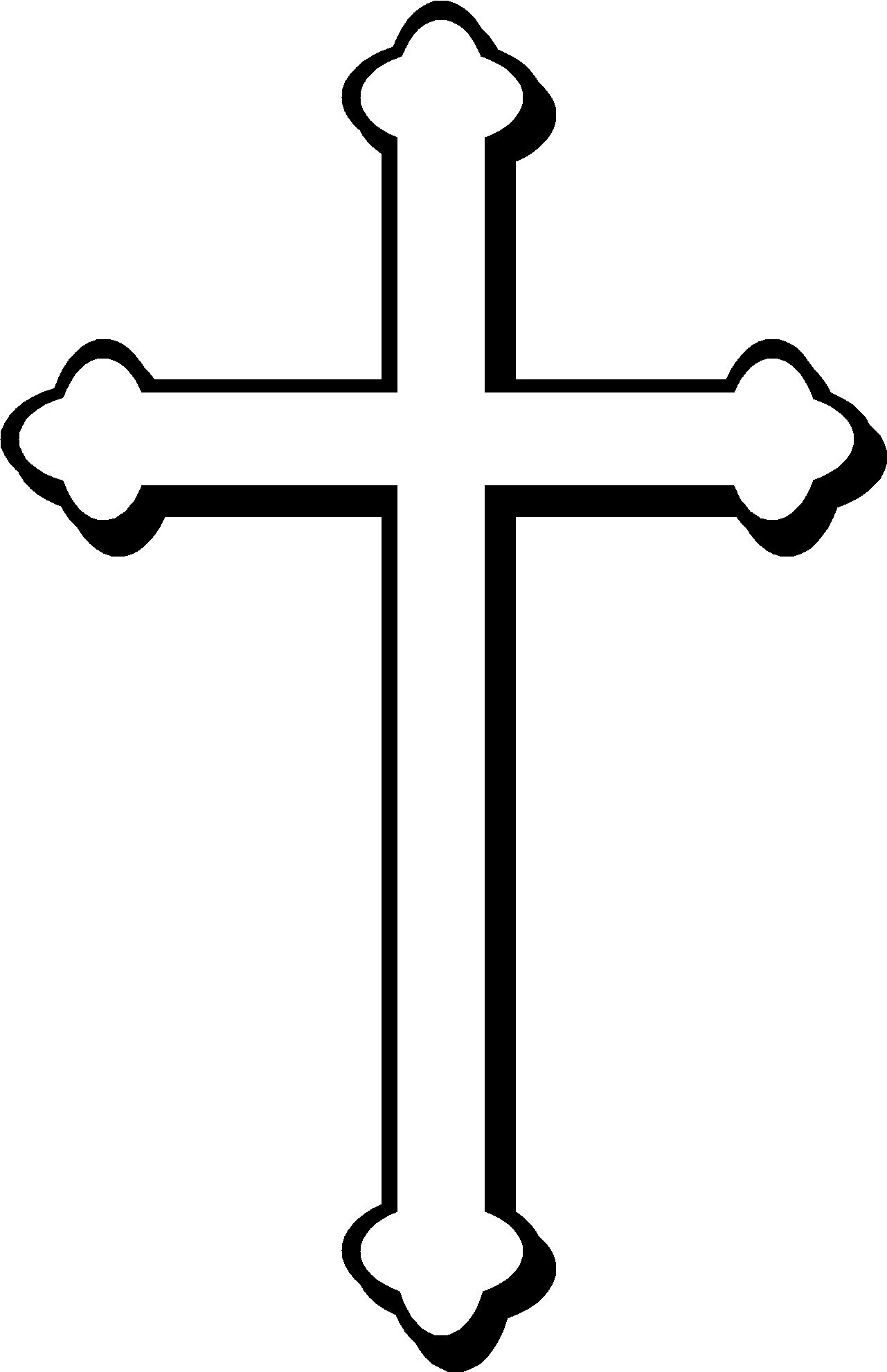 christian cross sketches - photo #5