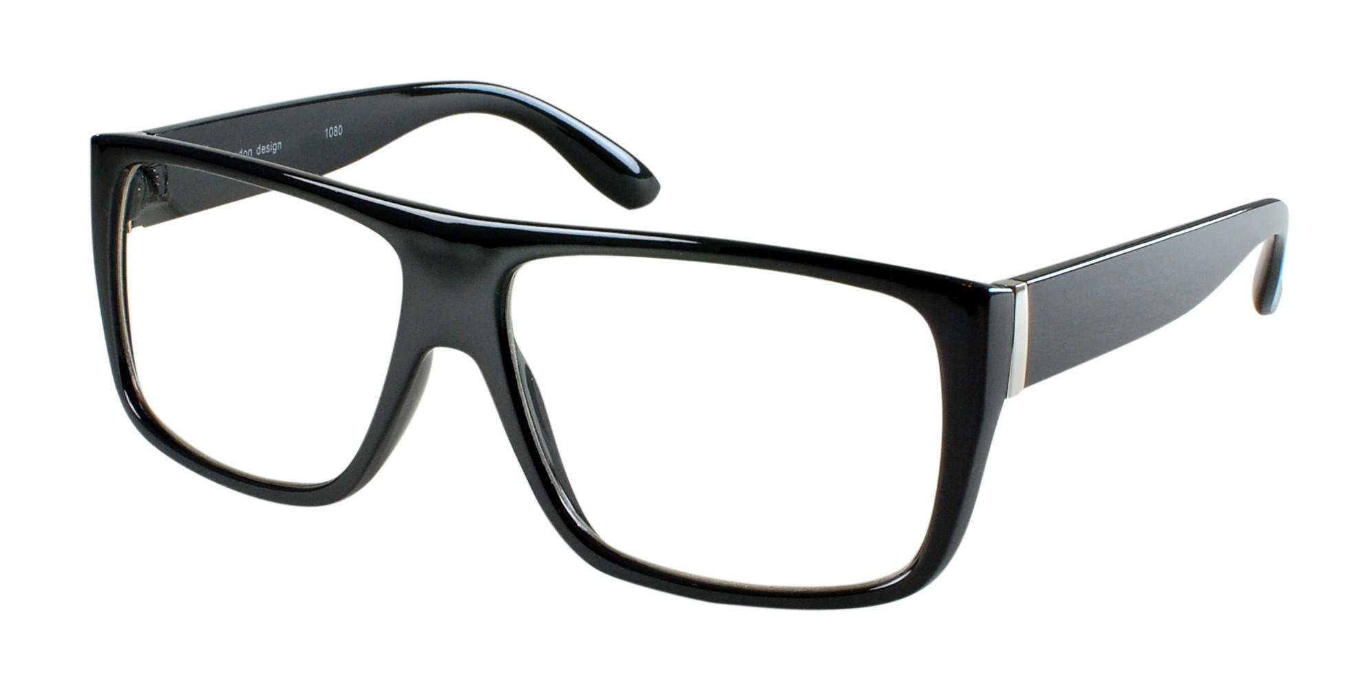 Black Frame Glasses Geek : Cartoon Nerd Glasses - ClipArt Best