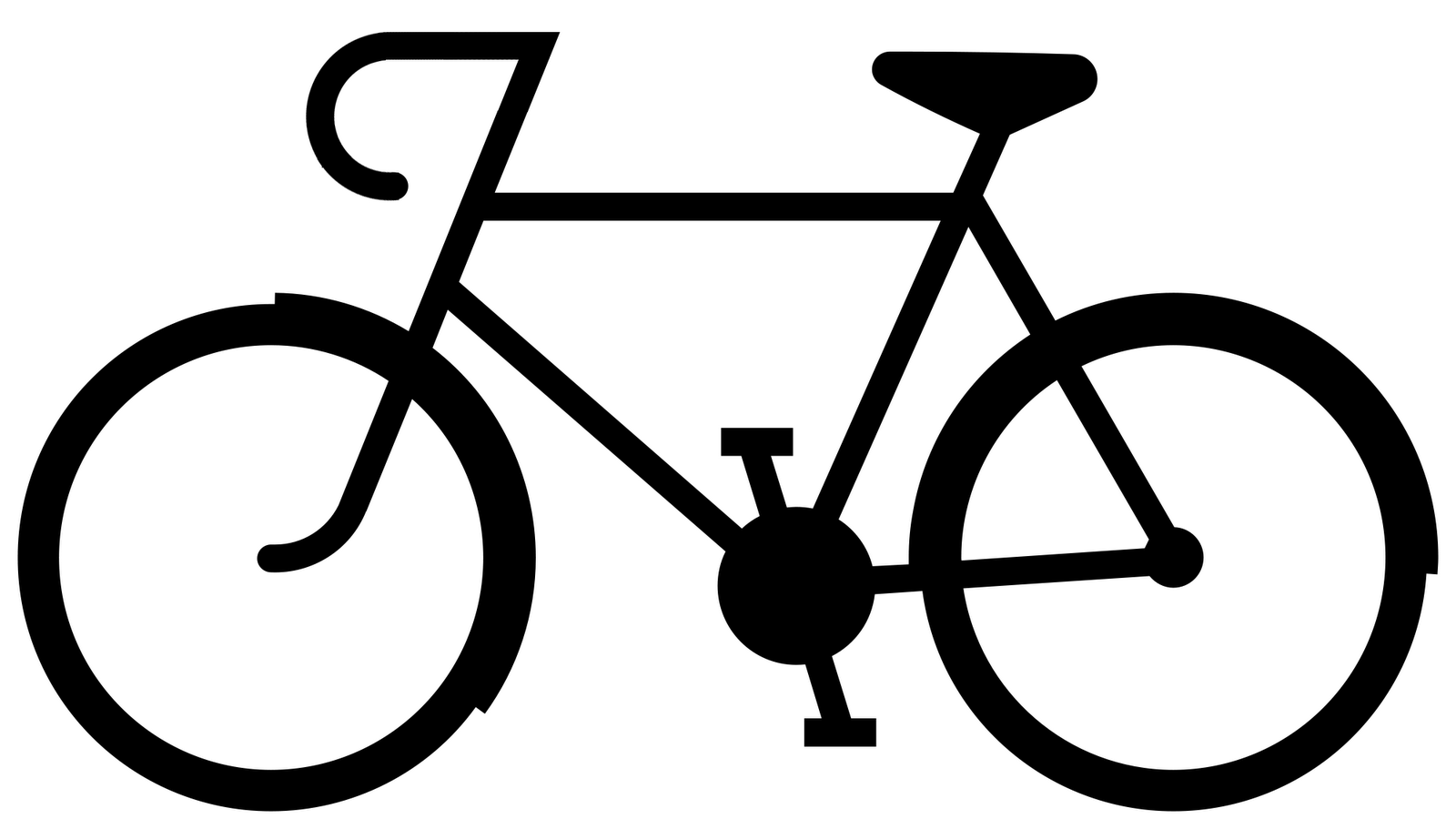 simple bike art 1080p - photo #11