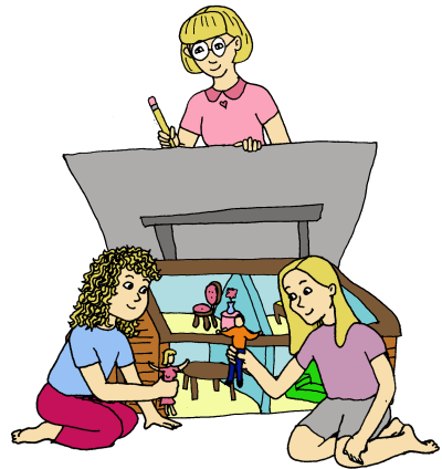 Doll House Cartoon - ClipArt Best