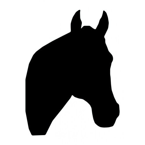 Horse Head Silhouette Patterns - ClipArt Best