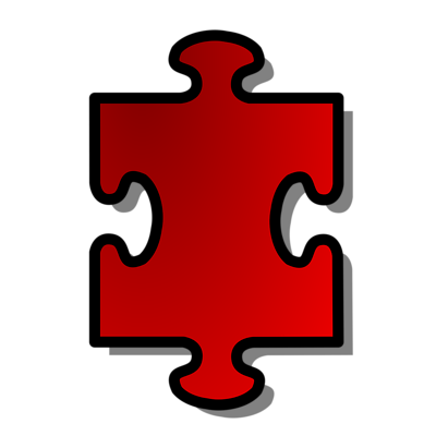 Free Stock Photos | Illustration Of A Red Puzzle Piece | # 14984 ...