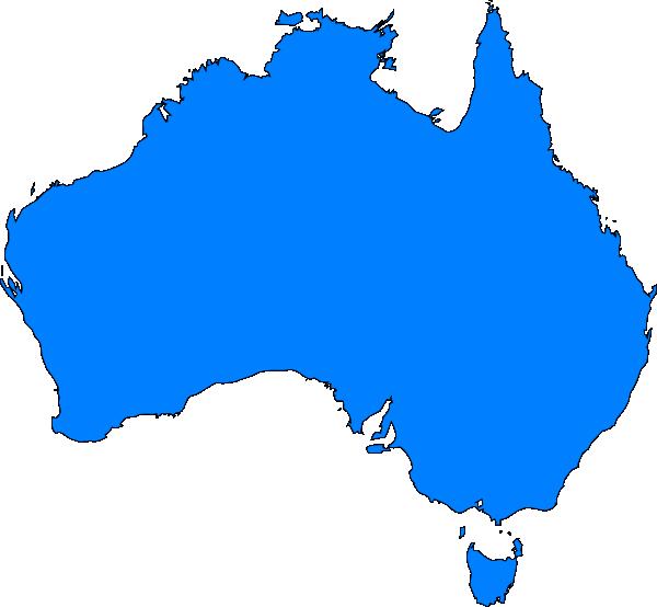 Blank Australia Map ClipArt Best – Australia Map Blank