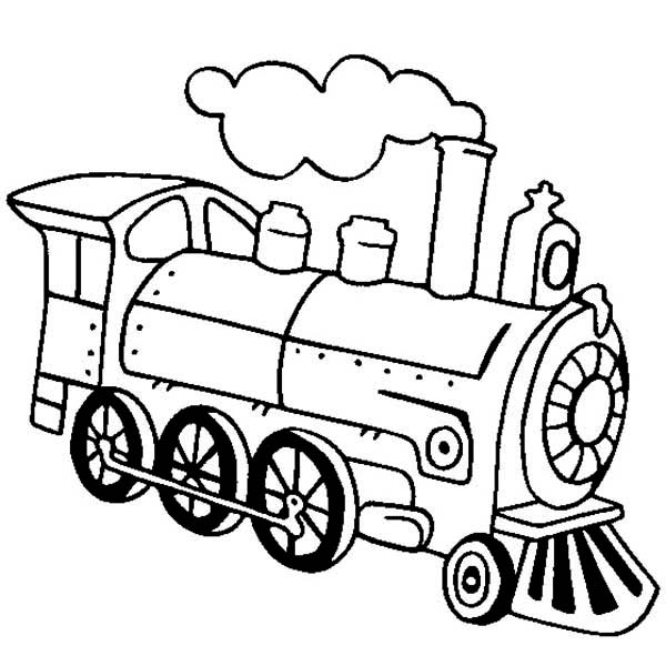 Line Drawing Train : Train line drawing clipart best