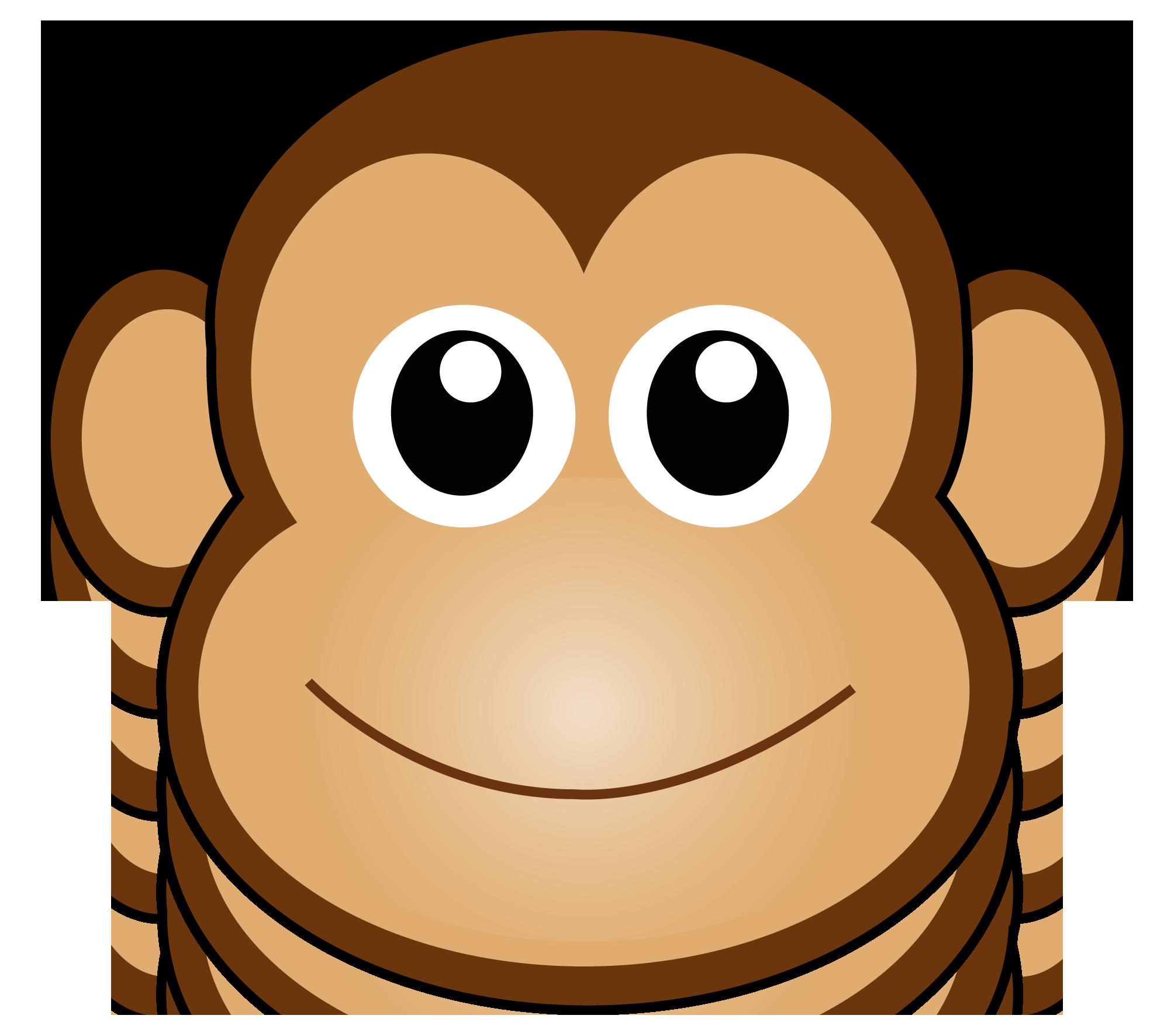 Gambar Smile Monyet Kartun ClipArt Best