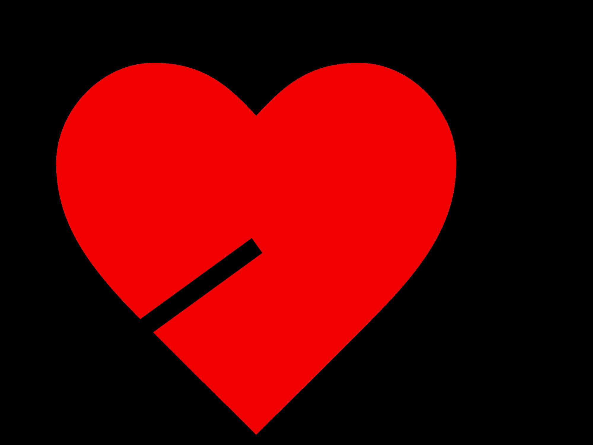 Heart With Arrow Clip Art - ClipArt Best