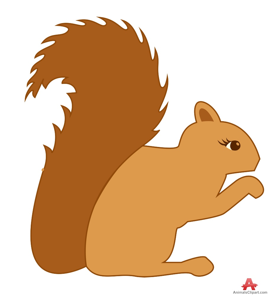 clip art cartoon squirrel - photo #14