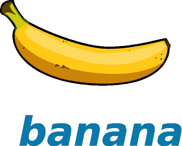 Banane Clip Art Clipart Best