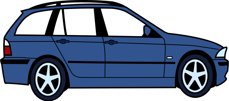 Clipart - BMW touring