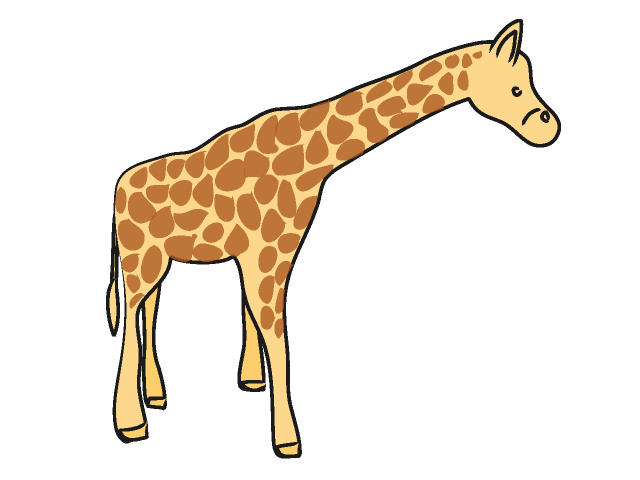 Giraffe Clip Art Vector Online Royalty Free Public Pictures on ...