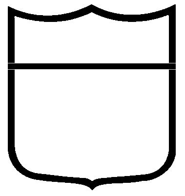shield template clipart best