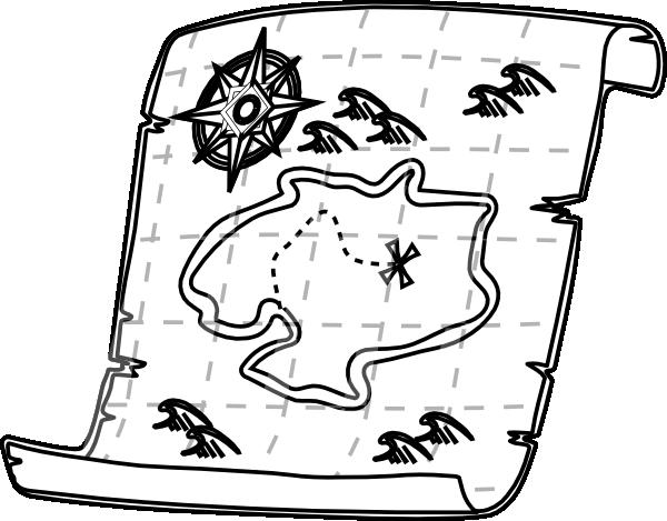 Treasure Map Printable Template Clipart Best