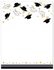 Graduation Cap Border - ClipArt Best