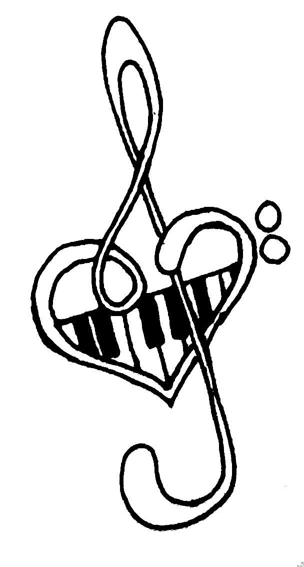 Cool Music Tattoo Designs To Draw | Free Download Clip Art | Free ...