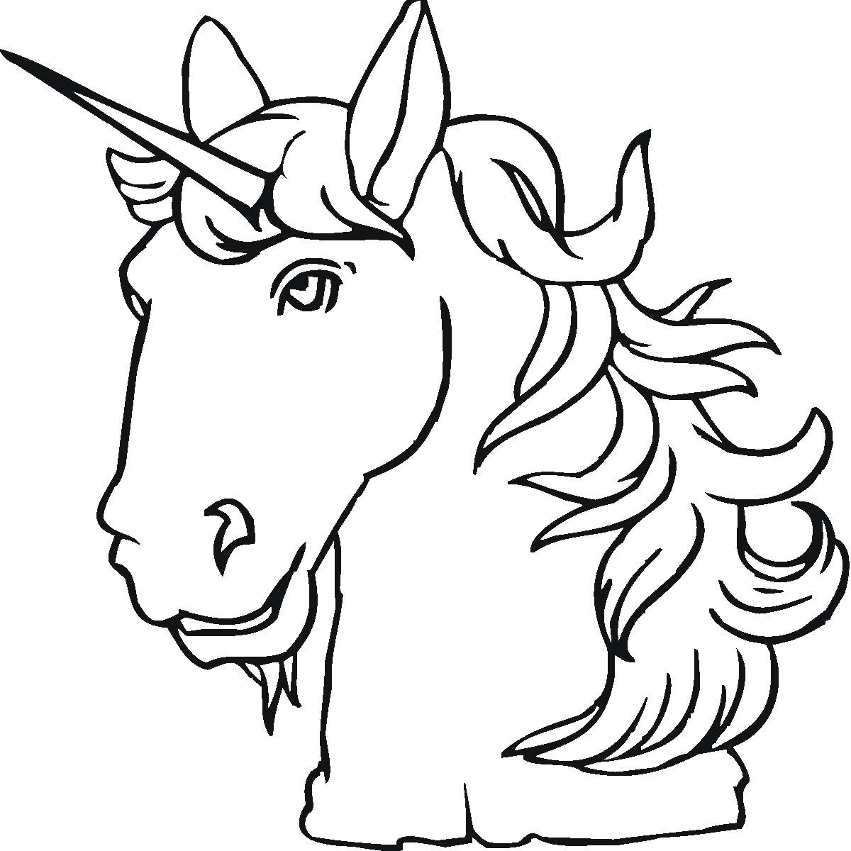 Unicorn coloring page - Winged Unicorn Coloring Pages Clipart Best