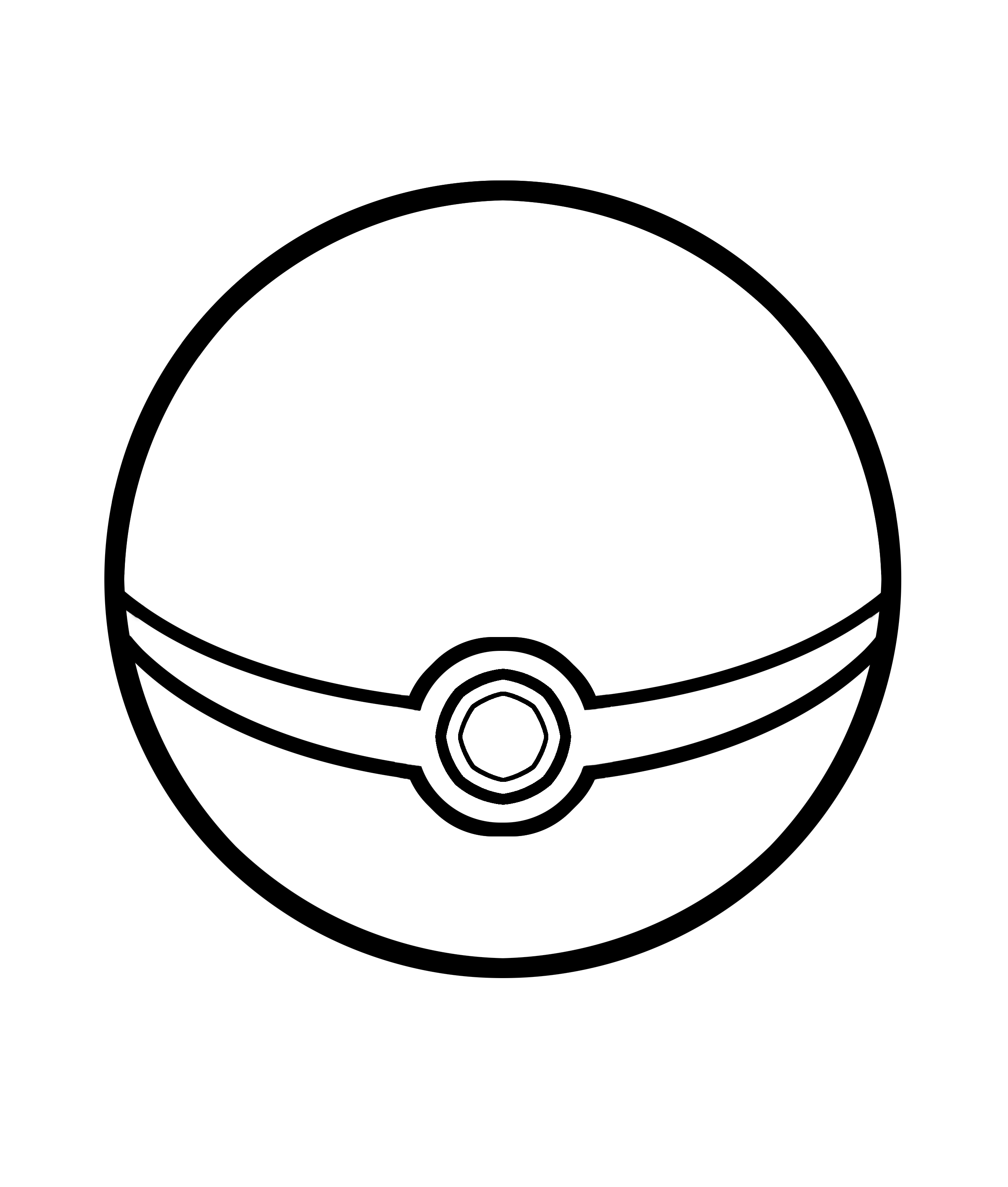 Pokemon Ball Coloring Pages Within Pokeballs Colouring Pages Clipart Best Clipart Best