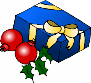 Christmas Present clip art - vector clip art online, royalty free ...
